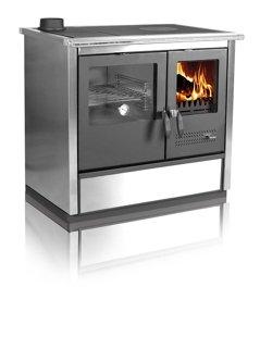Wood-fired cooker North (left side)